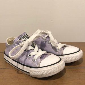 Toddler Size 7 Purple Converse